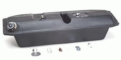 1933-34 Ford Poly Fuel Tank with Flush-Mount Neck & Push-thru Cap