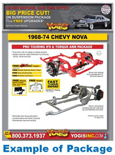 Special Price Suspension Packages