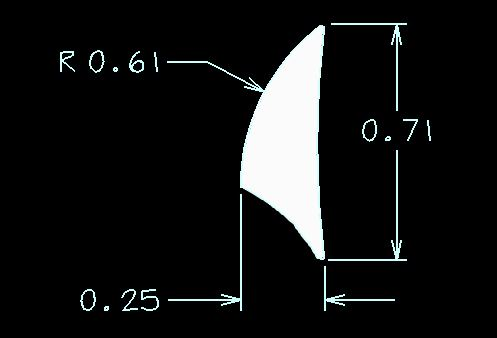 Exterior Aluminum Trim Dimensions