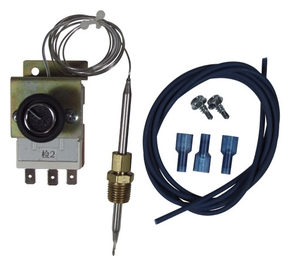 Adjustable Fan Thermostat and Wiring Kit
