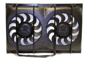 """Dual 12"""" Cooling Fans & Shroud"""