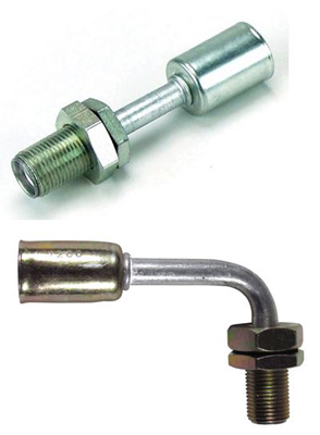 Beadlock Bulkhead A/C and Heat Fittings