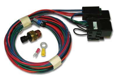 ELECTRIC FAN WIRING - CARB ENGINES