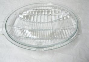 1932 Ford Glass Headlight Lens - Script