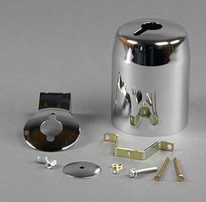 """VDO 3-3/8"""" Chrome Gauge Mounting Cup"""